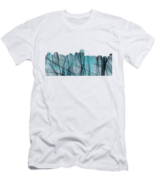 Albuquerque New Mexico Skyline Men's T-Shirt (Athletic Fit)