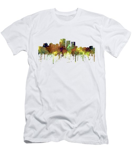 Louisville Kentucky Skyline Men's T-Shirt (Athletic Fit)