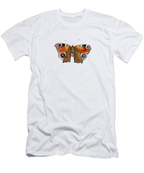 10 Peacock Butterfly Men's T-Shirt (Athletic Fit)