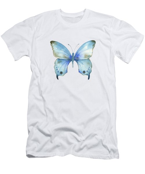#109 Blue Diana Butterfly Men's T-Shirt (Athletic Fit)