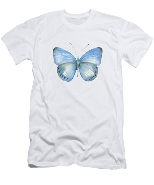 110 Blue Jack Butterfly Men's T-Shirt (Athletic Fit)