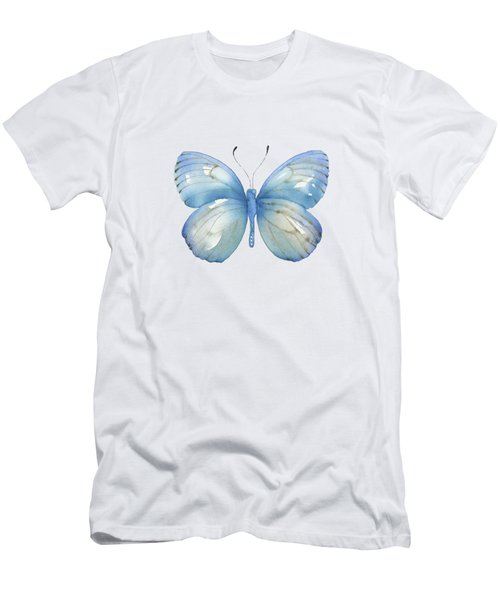 112 Blue Marcia Butterfly Men's T-Shirt (Athletic Fit)