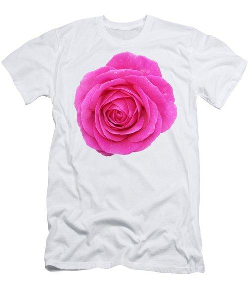 Rose Men's T-Shirt (Slim Fit) by George Atsametakis