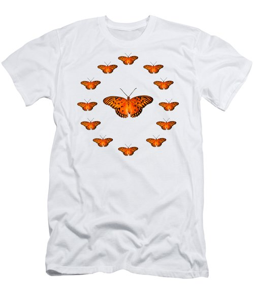 13 Butterflies Men's T-Shirt (Athletic Fit)