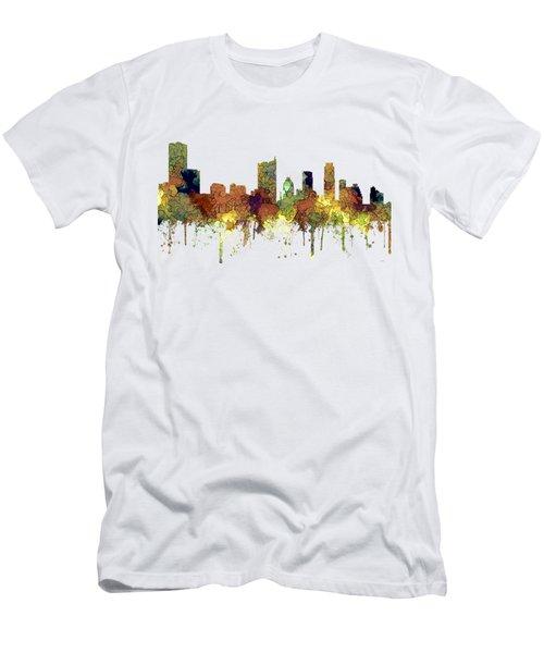 Austin Texas Skyline Men's T-Shirt (Athletic Fit)