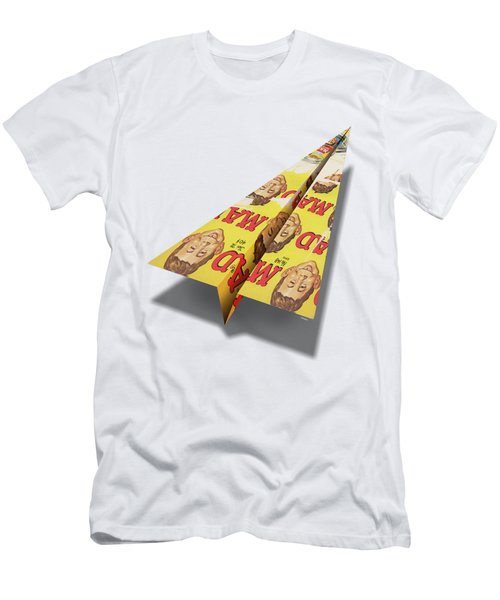 148 Mad Paper Airplanes Men's T-Shirt (Athletic Fit)