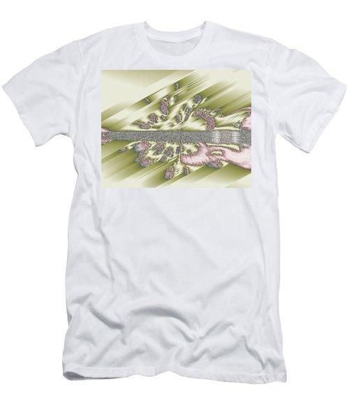 Wedding Guitar Men's T-Shirt (Athletic Fit)