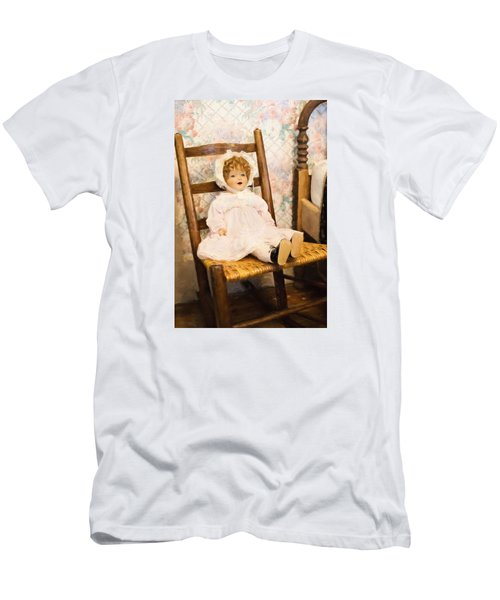 Men's T-Shirt (Athletic Fit) featuring the digital art Home In The 20s by Jill Wellington