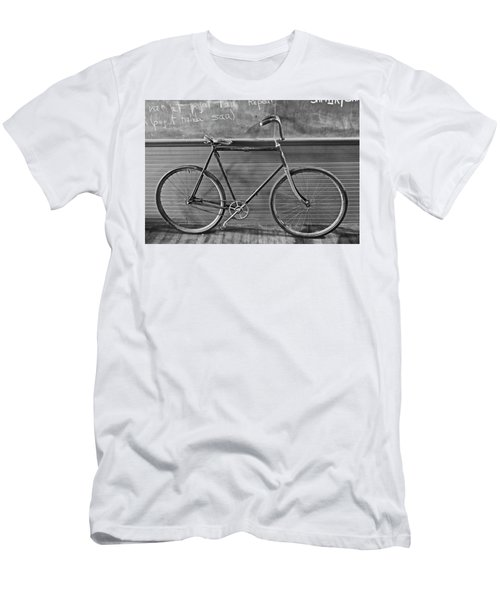 Men's T-Shirt (Athletic Fit) featuring the photograph 1895 Bicycle by Joan Reese