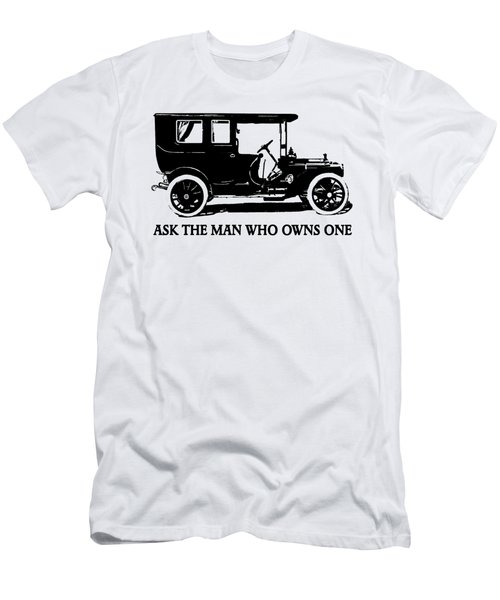 1909 Packard Limousine Slogan Men's T-Shirt (Athletic Fit)