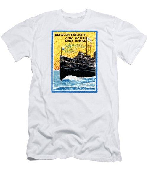 1910 Detroit To Buffalo Steamship Men's T-Shirt (Athletic Fit)