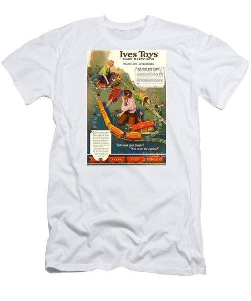 1920's Ives Toys Advertisement Men's T-Shirt (Athletic Fit)