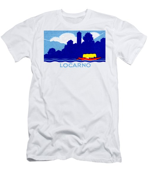 1925 Locarno Switzerland Men's T-Shirt (Athletic Fit)