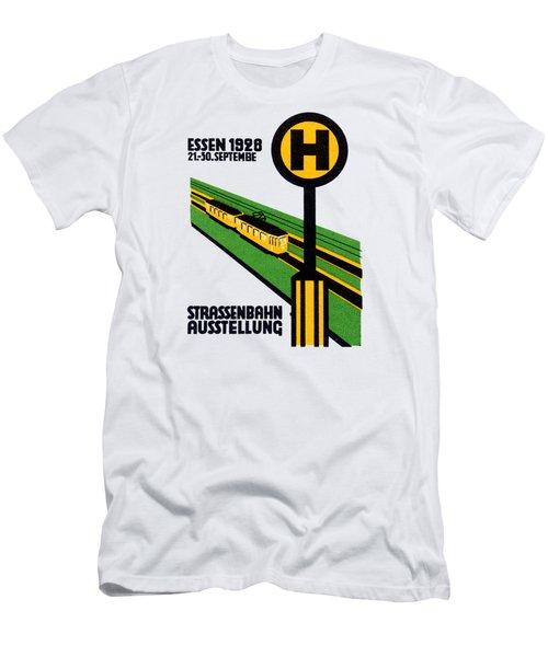 1928 Street Car Exposition Men's T-Shirt (Athletic Fit)