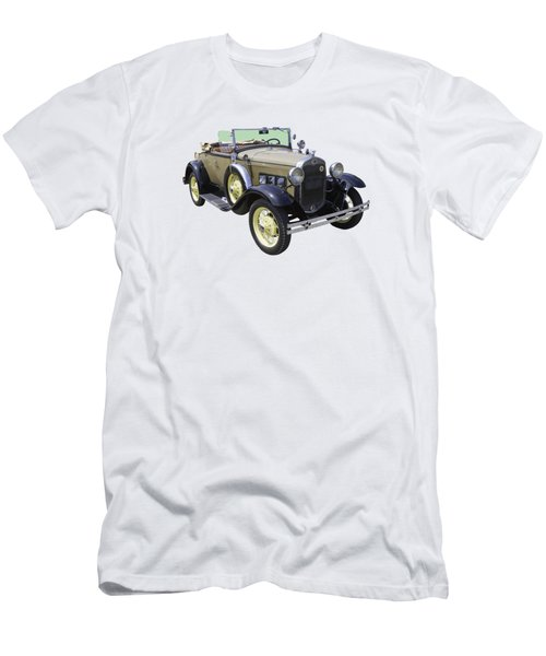 1931 Ford Model A Cabriolet Men's T-Shirt (Athletic Fit)