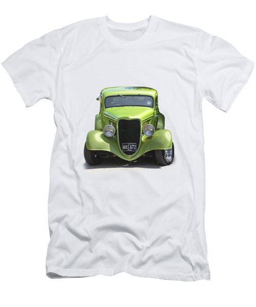 1934 Ford Street Hot Rod On A Transparent Background Men's T-Shirt (Slim Fit) by Terri Waters