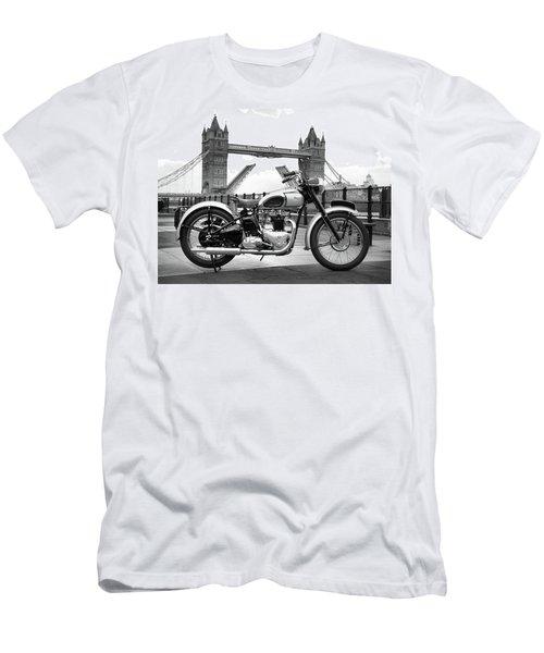 1949 Triumph T100 Men's T-Shirt (Athletic Fit)