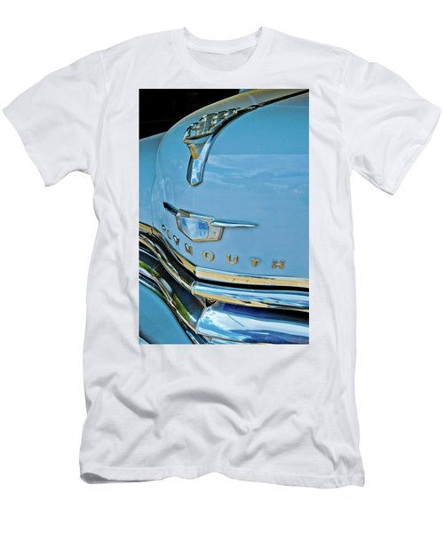 Men's T-Shirt (Slim Fit) featuring the photograph 1950 Plymouth Coupe by Linda Unger