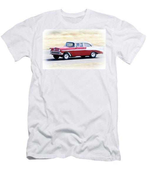 1956 Chevy Hot Rod Men's T-Shirt (Athletic Fit)