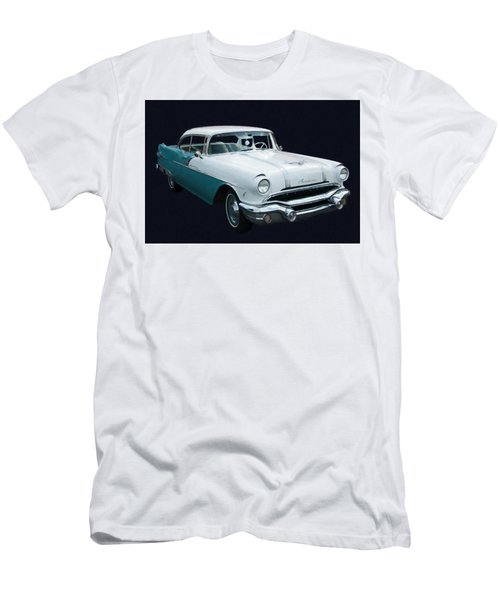 1956 Pontiac Star Chief Digital Oil Men's T-Shirt (Athletic Fit)
