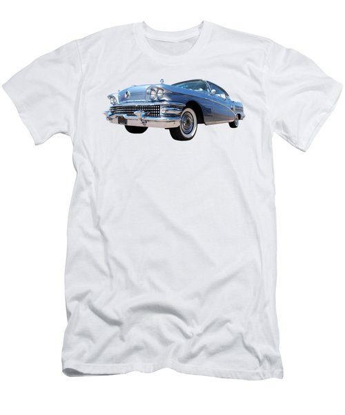 1958 Buick Roadmaster 75 In A Blue Mood Men's T-Shirt (Athletic Fit)