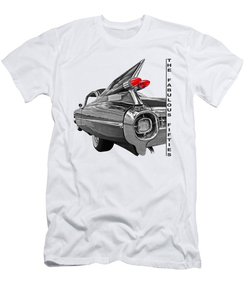 1959 Cadillac Tail Fins Men's T-Shirt (Slim Fit) by Gill Billington