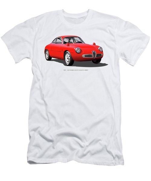 1960 Alfa Romeo Zagato Giulietta Sprint Men's T-Shirt (Athletic Fit)
