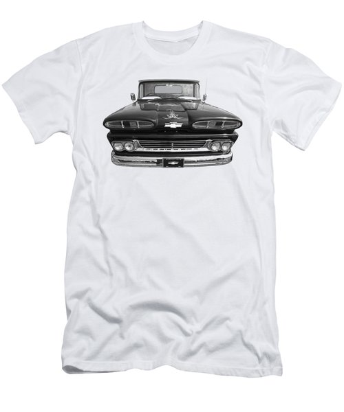 1960 Chevy Truck Men's T-Shirt (Slim Fit) by Gill Billington