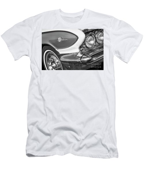 Men's T-Shirt (Slim Fit) featuring the photograph 1961 Le Sabre Monotone by Dennis Hedberg