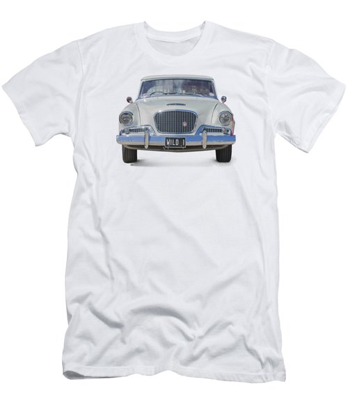 1961 Studebaker Hawk On A Transparent Background Men's T-Shirt (Athletic Fit)