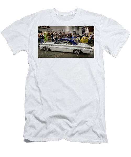 Men's T-Shirt (Slim Fit) featuring the photograph 1962 Buick Skylark by Randy Scherkenbach