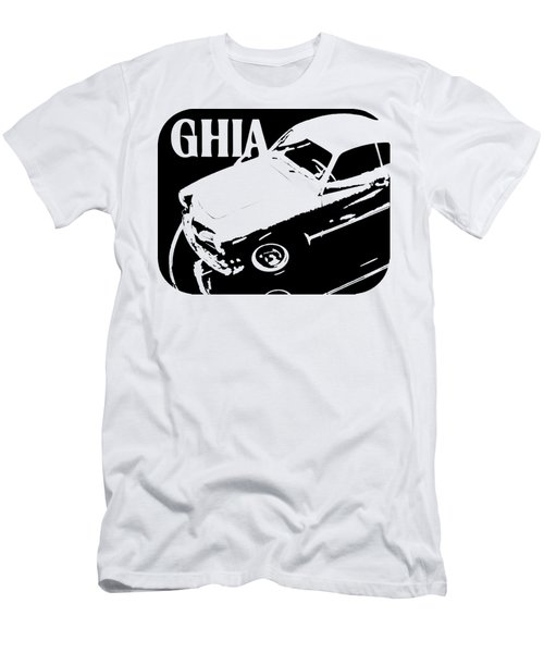 1962 Karmann Ghia Pop Art Tee Men's T-Shirt (Athletic Fit)