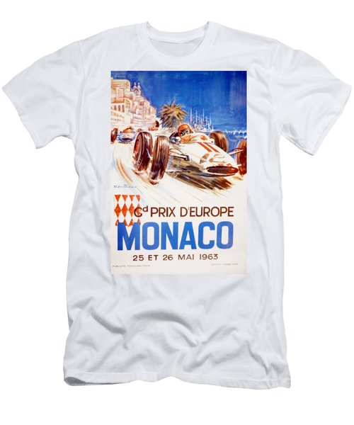 1963 F1 Monaco Grand Prix  Men's T-Shirt (Athletic Fit)