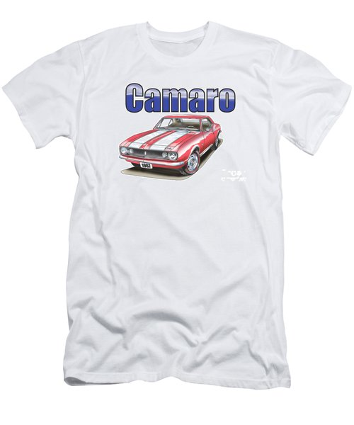Men's T-Shirt (Athletic Fit) featuring the digital art 1967 Camaro by Thomas J Herring