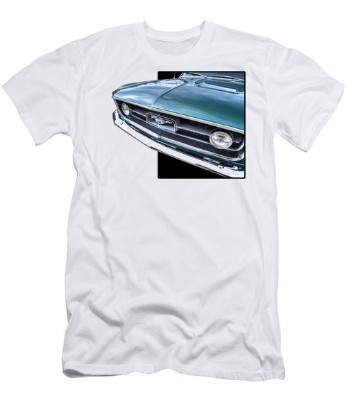 1967 Mustang Grille Men's T-Shirt (Athletic Fit)