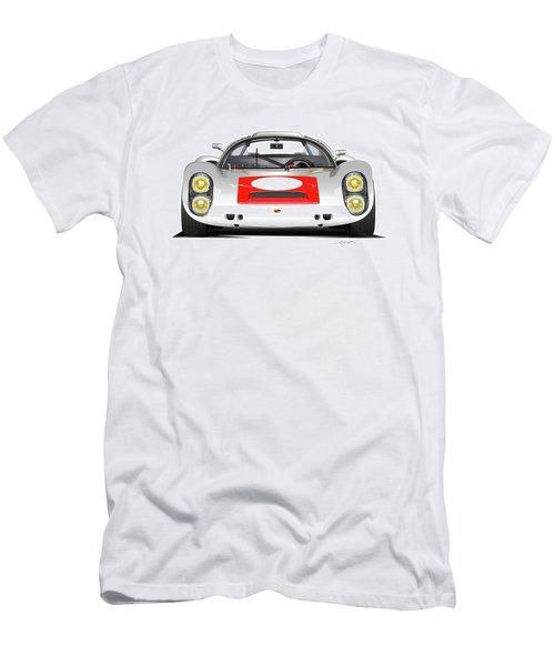 1967 Porsche 910 Illustration Men's T-Shirt (Athletic Fit)