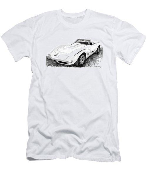 1968 Corvette Men's T-Shirt (Slim Fit) by Jack Pumphrey