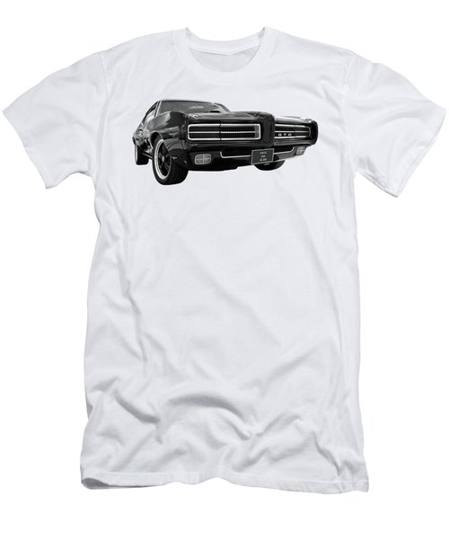 Men's T-Shirt (Slim Fit) featuring the photograph 1969 Pontiac Gto The Goat by Gill Billington