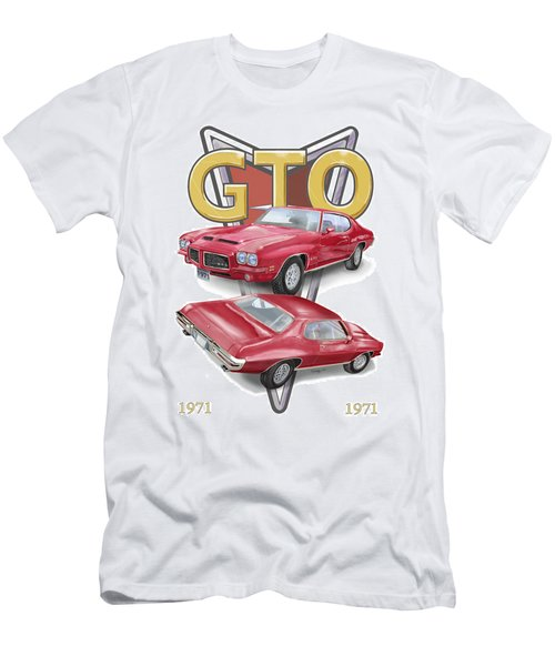 1971 Pontiac Gto Men's T-Shirt (Athletic Fit)