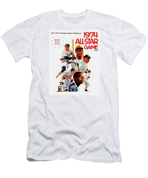 1974 Baseball All Star Game Program Men's T-Shirt (Athletic Fit)