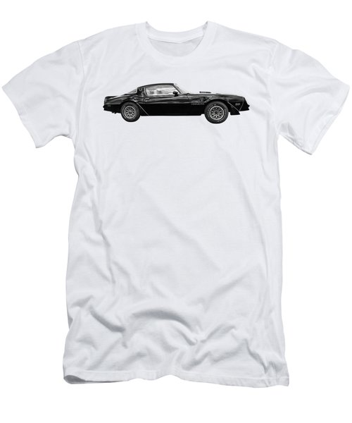 1978 Trans Am In Black And White Men's T-Shirt (Athletic Fit)