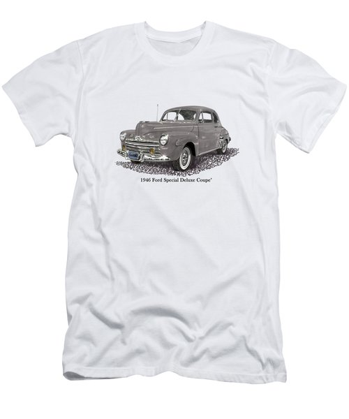 1946 Ford Special Deluxe Coupe Men's T-Shirt (Athletic Fit)