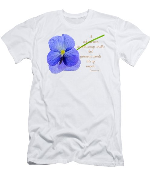 A Soft Answer Men's T-Shirt (Athletic Fit)