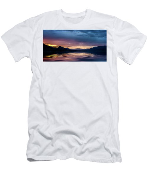 Men's T-Shirt (Athletic Fit) featuring the photograph Across The Clouds I See My Shadow Fly by John Poon