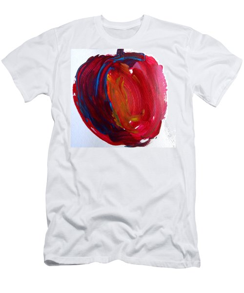 Men's T-Shirt (Slim Fit) featuring the painting Apple by Fred Wilson