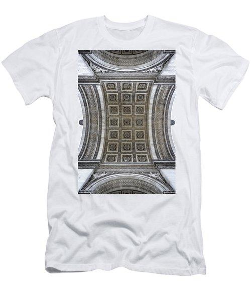 Arc De Triomphe Detail Men's T-Shirt (Athletic Fit)