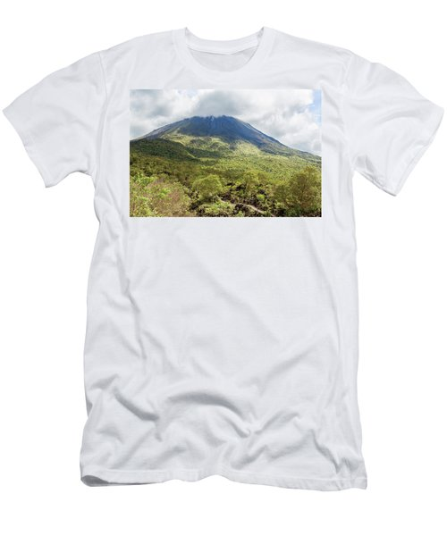 Arenal Volcano, Costa Rica Men's T-Shirt (Athletic Fit)