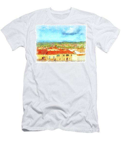 Arzachena Landscape Men's T-Shirt (Athletic Fit)