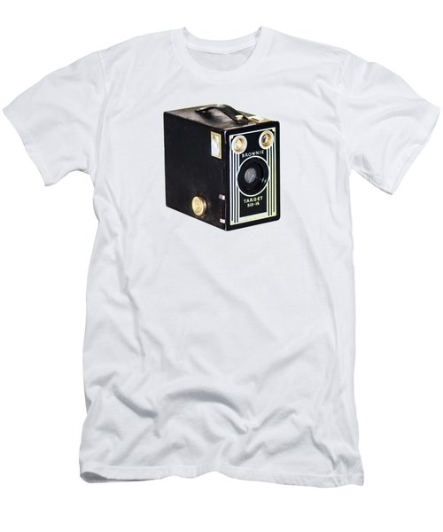 Men's T-Shirt (Slim Fit) featuring the photograph Brownie Target Six-16 by Bill Cannon