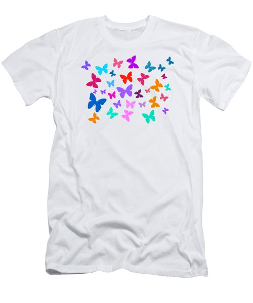 Butterflies Men's T-Shirt (Slim Fit)